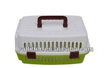Pet cat dog Plastic carrier transportation travel box kennel