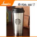 16 oz de acero inoxidable personalizada taza de café