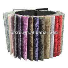 Polyester Velvet Brushed Sofa Fabric
