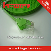 Cat5/Cat6/Cat6e network cable flat cat6 ftp patch cord for Communication
