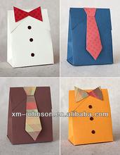 Xiamen manufacture custom birthday gift bag
