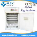 Incubadora de ovos industriais ai-264 nike china fábrica incubadora do ovo máquina