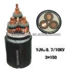 High Voltage 11KV 33KV XLPE Cables CU/AL XLPE PVC Power Cable