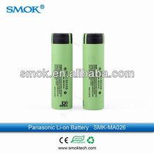 Alibaba china top selling high quality 18650 panasonic li-ion battery for sale
