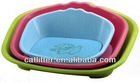 New 2014 Plastic pet cat Dog Bed With Pad Cushion Mat