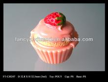 3ml Cup Cake Lip Gloss cream Jar