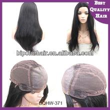 New arrival aaaaa human hair brazilian glueless silk top full lace wig