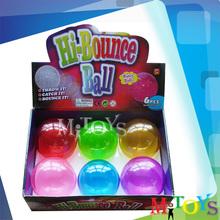 2014 New Hollow TPU Super High Bouncing Plastic Jumping Ball
