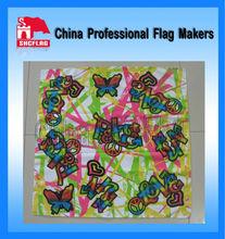 Short delivery time custom design printed kerchief no MOQ