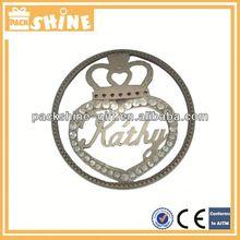 Fashion novelty metal ornament hooks