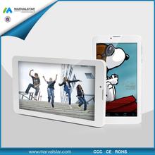Smart Pad 7inch Tablet PC Android MID MTK8312 Dual Core 1GB+8GB 1024*600pixel Panel 3G GPS Bluetooth Mini MID Plastic Case