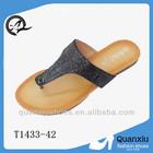 nice shoes wholesale ladies flat chappal china