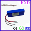 With PCB rechargeable li-ion 12v 25ah battery for medical devices