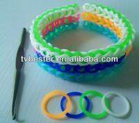 silicone DIY bracelet fun loom diy