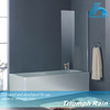 AOOC1403CL easy install aluminum frosted shower screens