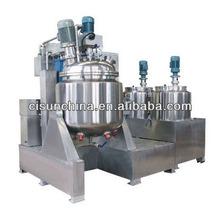 good quality cream vacuum emulsifying mixer