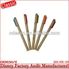 Disney factory audit manufacturer'sball pen with eraser 142241