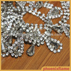 decorative rhinestone fabric trim