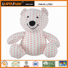 lovely animal cushion toy wholesale Leadershow beads stuffed embroidery bear toy