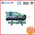 ( a) de bebidas de água industrial chiller parafuso compressor bitzer/de água de refrigeração do chiller