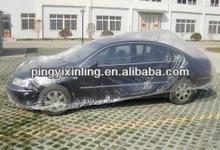 plastic film waterproof car cover