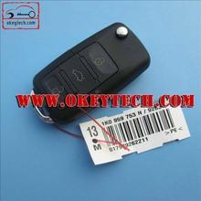 OkeyTech VW remeot key 3 button 1JO 959 753 DJ ID48 chip 315Mhz remote key for vw remote key