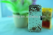 Best selling products 2014 diamond leather credit card case for iphone 4s