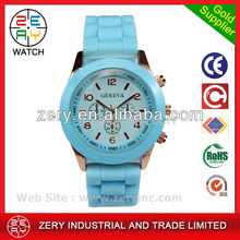 R0452 new fashion silicone watches made in hong kong