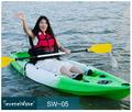 New design hot único de alumínio assento canoa e kayak transportadora