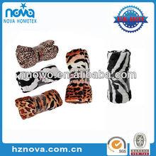 2014 New Design Animal Printed Mink Blanket