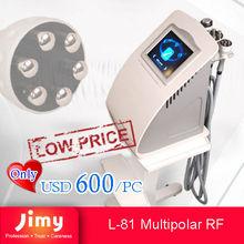 Radio Frequency face lifting machine Salon and Home Use Multi-polar RF Beauty Machine
