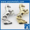 Personalizado ouro/prata 3d cavalo, todo o tamanho, dignou