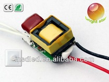 3W dimmable LED driver 300ma constant current dimmable led driver