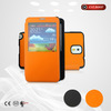 S-view protective filp phone cover for samsung glaxy note 3 china manufacture