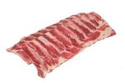 .Frozen pork spare ribs