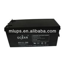 High Cycles PV/UPS/Solar Lead Acid Battery Supplier 12V 200AH