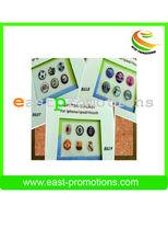 Alla moda popolarmente a basso costo appiccicoso in resina per telefono mobile pulsante.