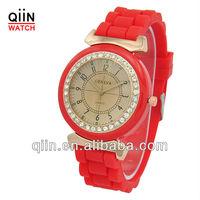 QD0186 new items fashion silicon watch free sample
