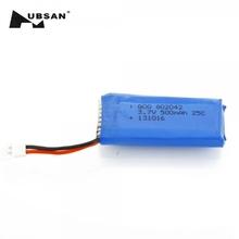 Hubsan X4 H107 H107L H107C H107D V252 JXD385 RC Spare Part 3.7V 500mAh Battery