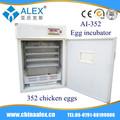 96 ovo hatcheries máquina incubadora AI-352 cantor máquina de costura de peças incubadora de ovos de galinha e nascedouro