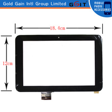 9 pulgadas touch para tablets display replacement, color black,GK-073