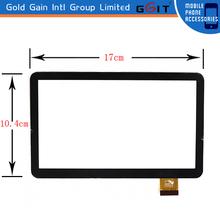 Pantalla tactil para tablets touch screen de 7 inches, color negro, GK-072