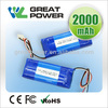 Factory directly selling IEC UN standard li polymer battery 3.7v