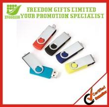Promotional Custom Logo Swivel Bulk 1GB USB Flash Drives