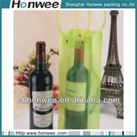 fancy wholesale custom waterproof promotional pvc ice wine bag