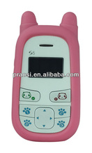 Cheap gsm children baby phone set time / date / sound monitor / sos button