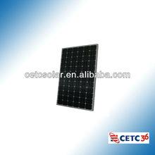 cheap price 15*156 cell 150 watt mono Solar panel