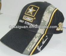 6-panel USA army baseball cap