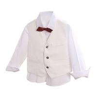 100% t/r baby boy waistcoats