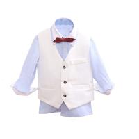 baby boy shirt and waistcoat